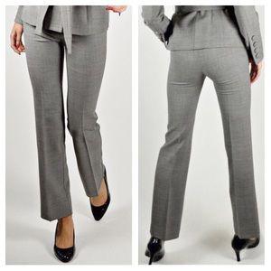 St. John Light Gray Wool Pants P1